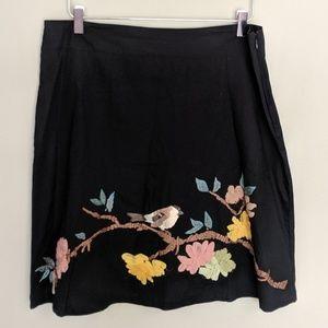 Karen Nicol House Sparrow Skirt